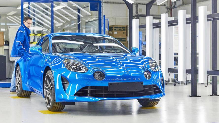 Alpine A110 Factory