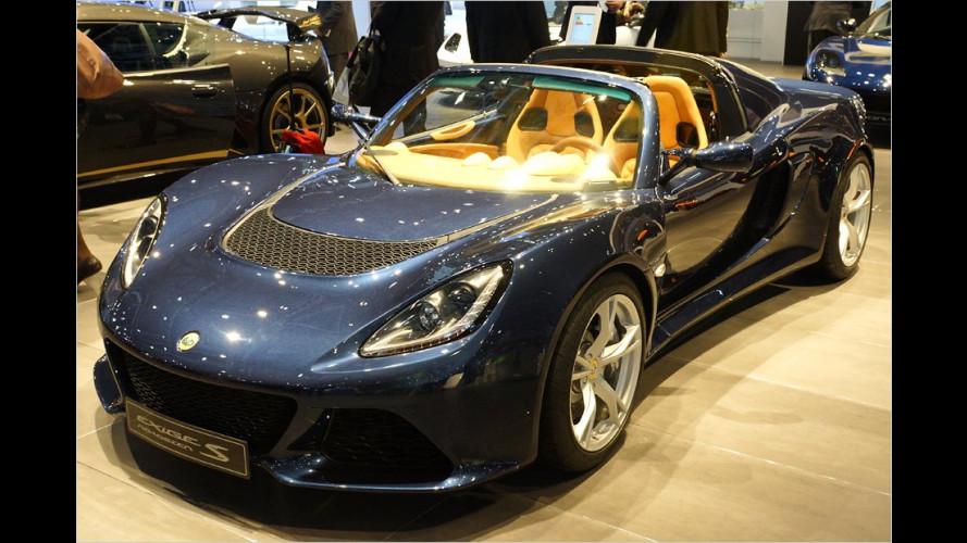 Exige S Roadster und Evora-Sondermodell