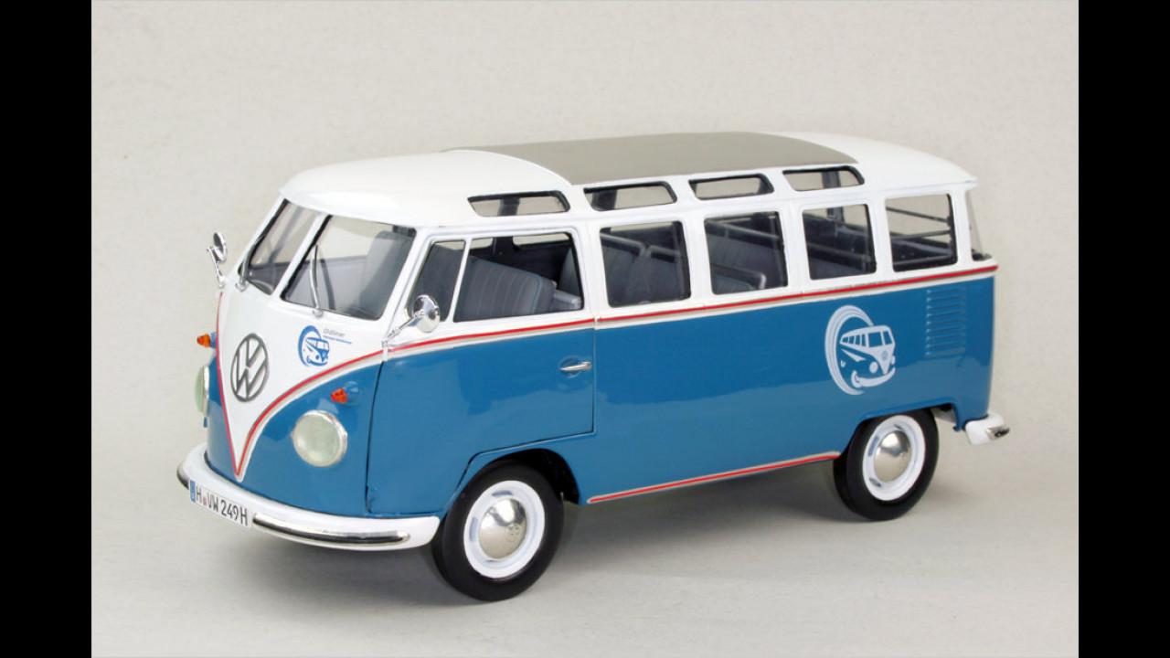 Sieger Modellbau Diverse Maßstäbe: VW T1 Samba Bus in 1:16