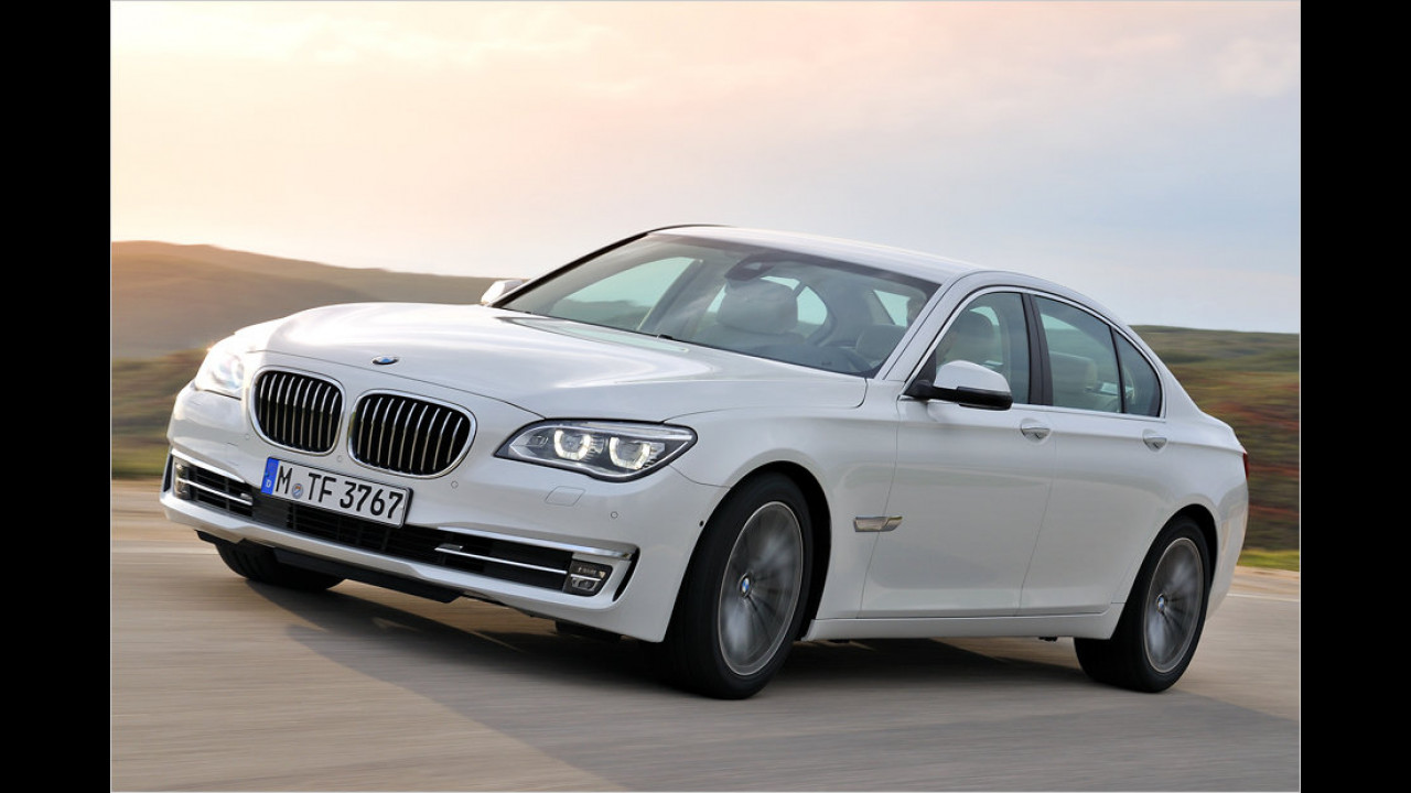 BMW 7er gegen Mercedes S-Klasse