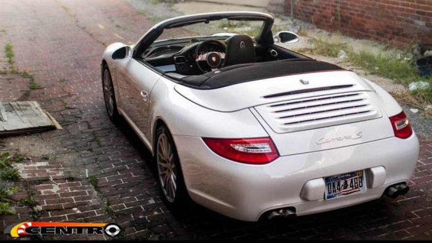 Porsche 911 (997) Cabriolet with central driving position [video]