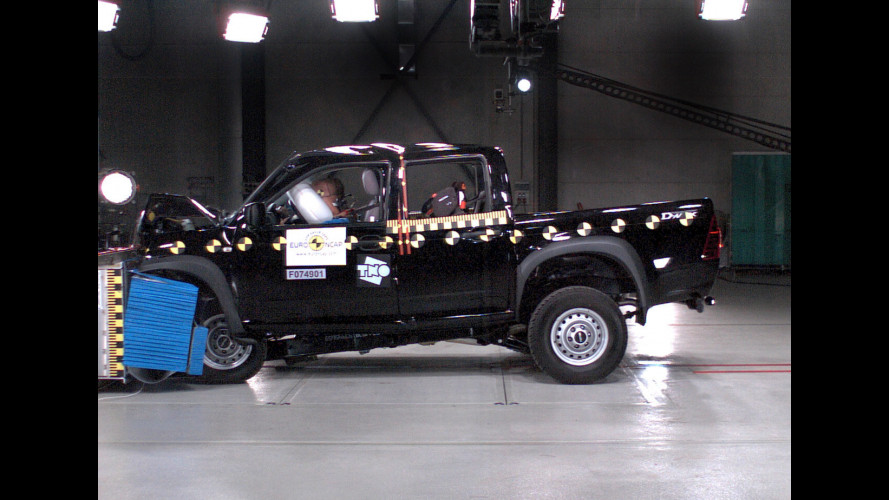 Crash Test Isuzu D-MAX/Rodeo