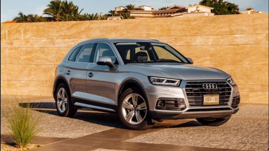 Nuova Audi Q5, l'entry level adesso è il 2.0 TDI 150 CV