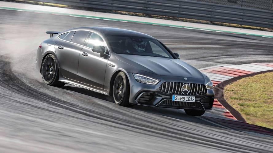 Mercedes-AMG GT 4 puertas Coupé 2018, estrella fugaz