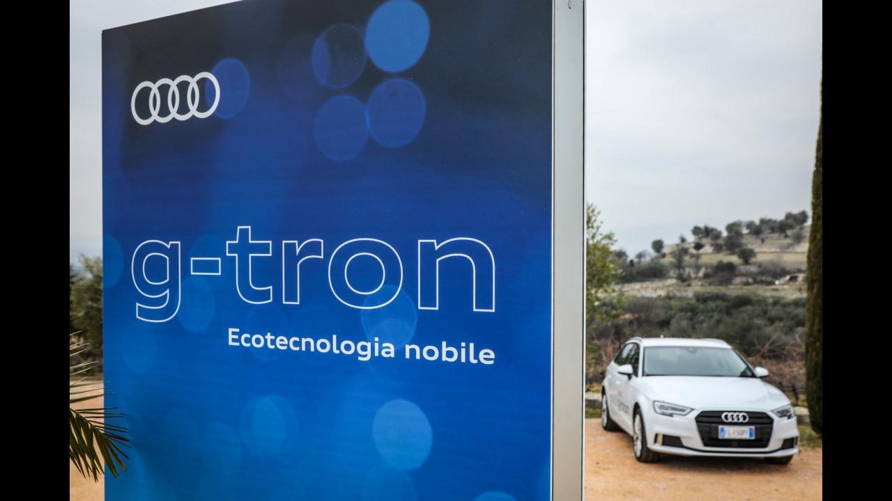 Audi e la gamma g-tron a metano
