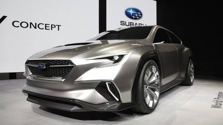Subaru Viziv Tourer concept at the 2018 Geneva Motor Show