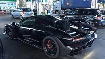 McLaren Senna spotted at gas station