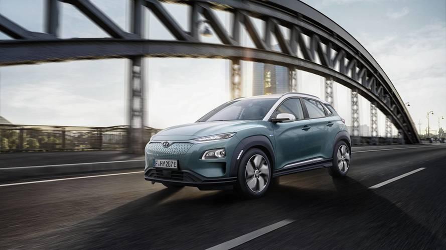 Hyundai unveils Kona Electric SUV