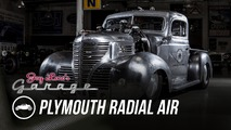 Radial engined Plymouth pickup