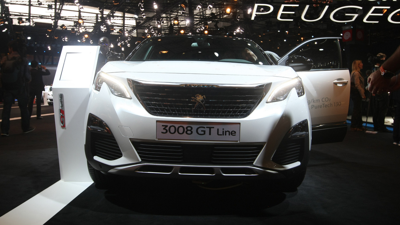 2016 peugeot 3008 paris motor show photos. Black Bedroom Furniture Sets. Home Design Ideas