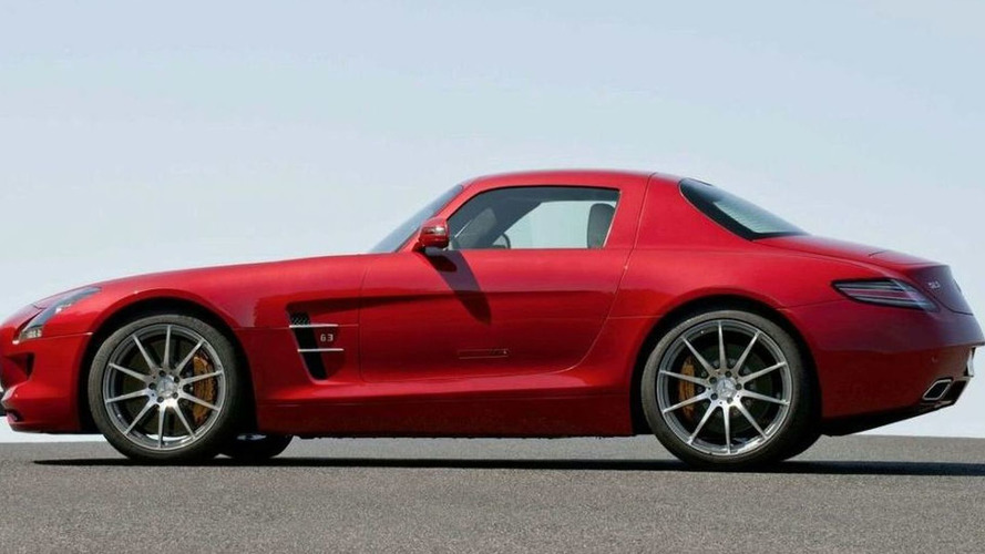 Mercedes to Launch Baby SLS AMG in 2013