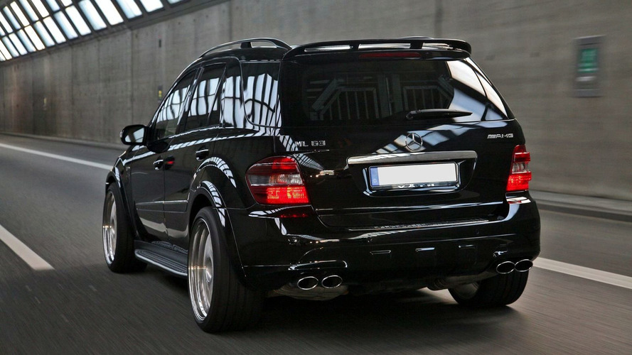 VÄTH Giant with 585hp - Based on Mercedes ML 63 AMG