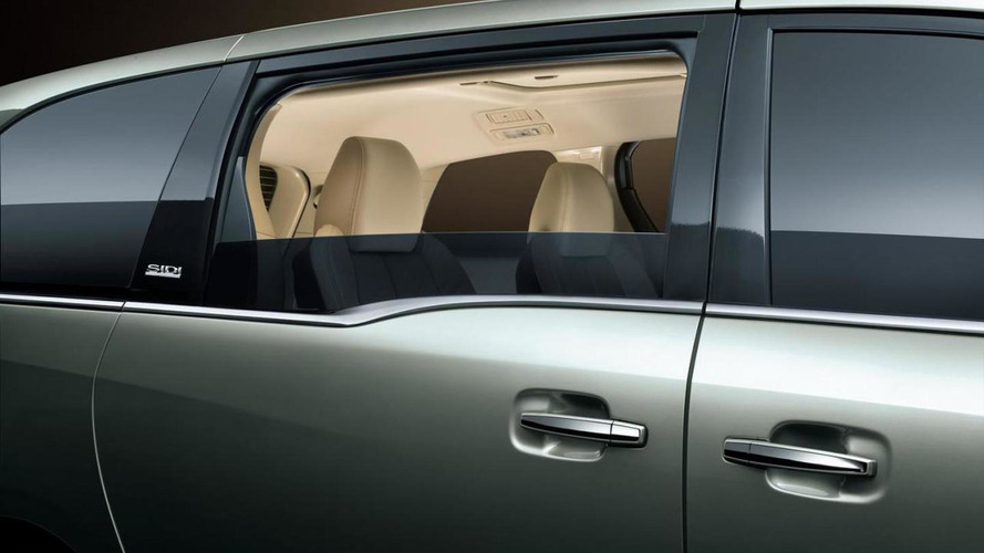 Buick teases 2011 GL8 minivan for China