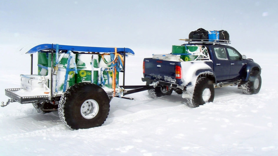 Toyota Hilux Conquers the South Pole - video