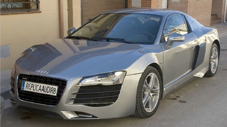 Creepy Audi R8 Replica Built from Mercury Cougar
