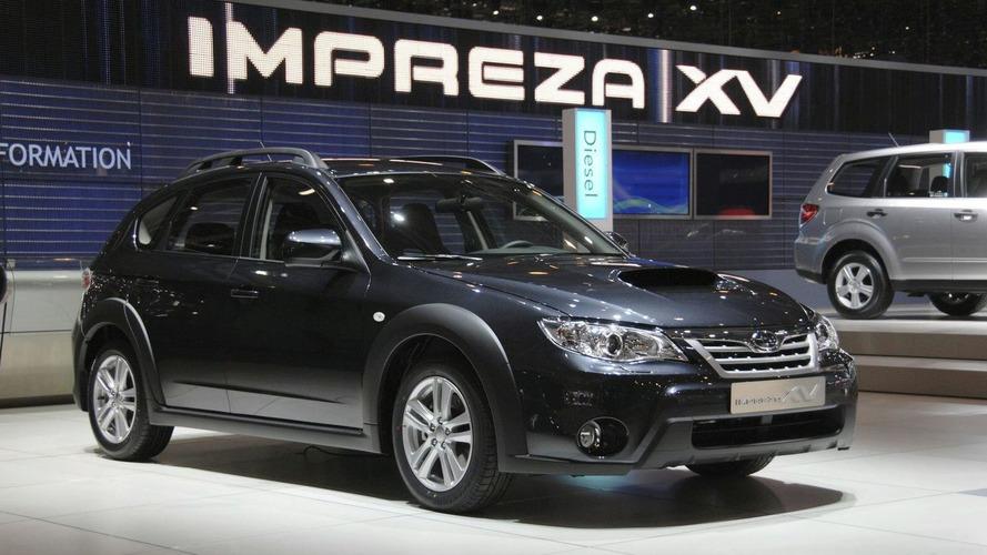 Subaru Impreza XV Crosses Over in Geneva