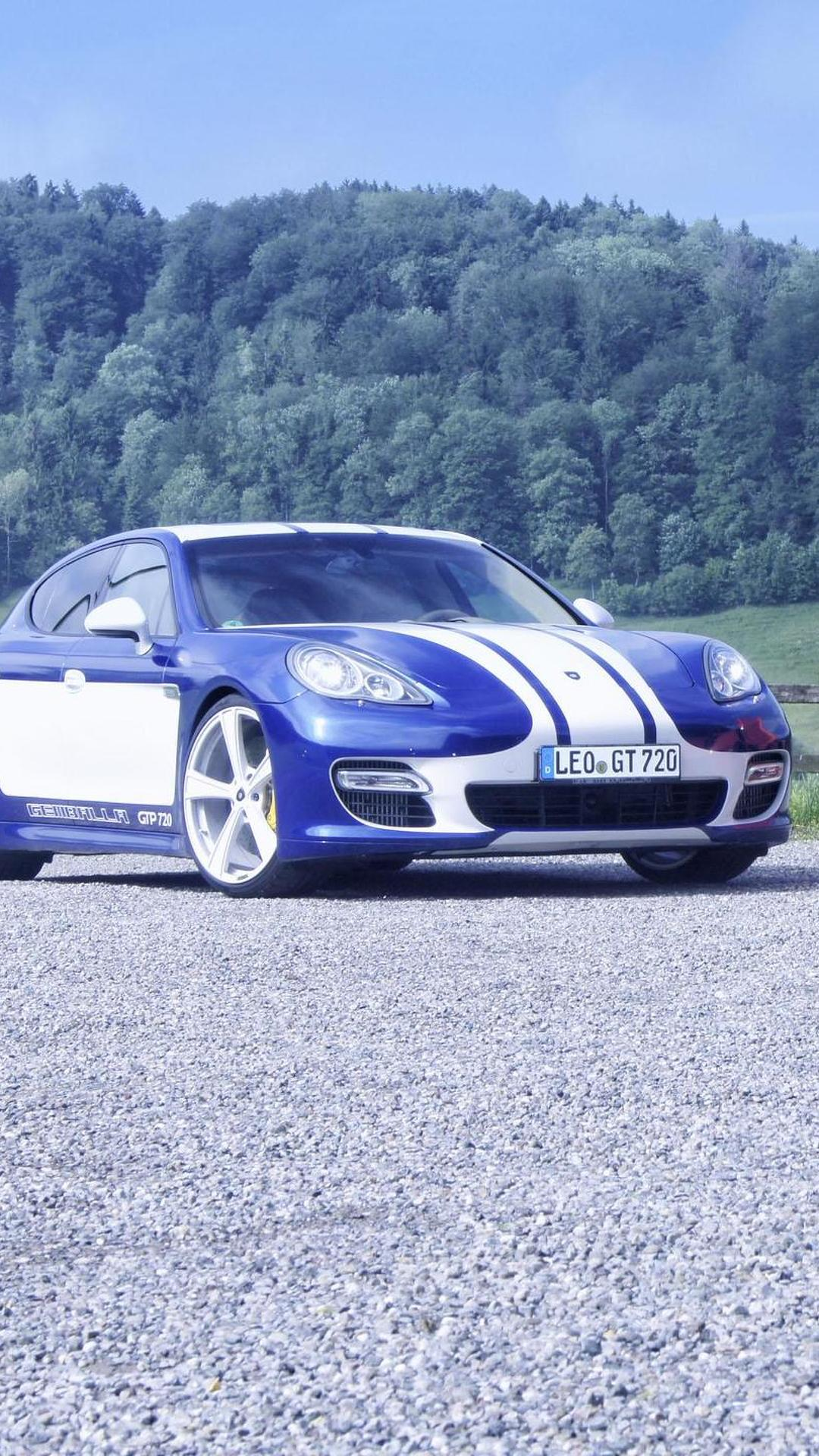 Новый тюнинг Porsche Panamera GTP 720 от Gemballa