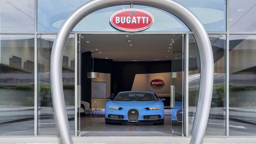 Así es el concesionario más grande de Bugatti en el mundo