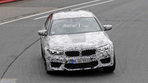 2018 BMW M5 new spy photos from the Nurburgring