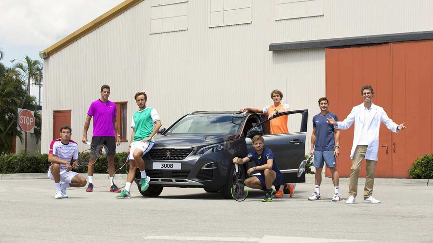 Peugeot renforce sa présence dans le monde du tennis