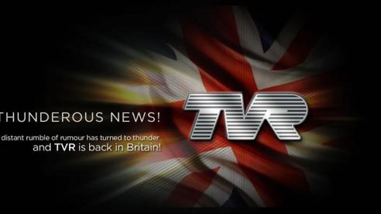 TVR revival announcement 10.06.2013
