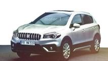 2016 Suzuki SX4 S-Cross facelift leaked photo