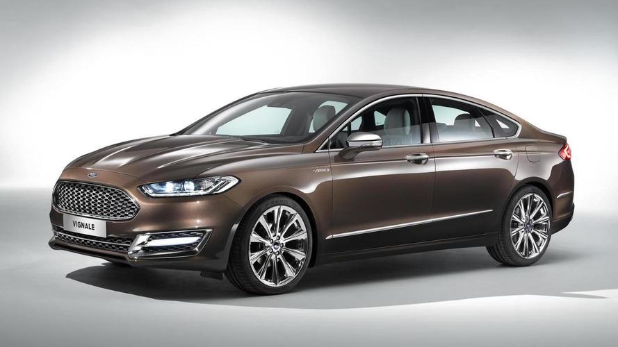 Ford Mondeo Vignale concept previews premium trim due 2015 for several models