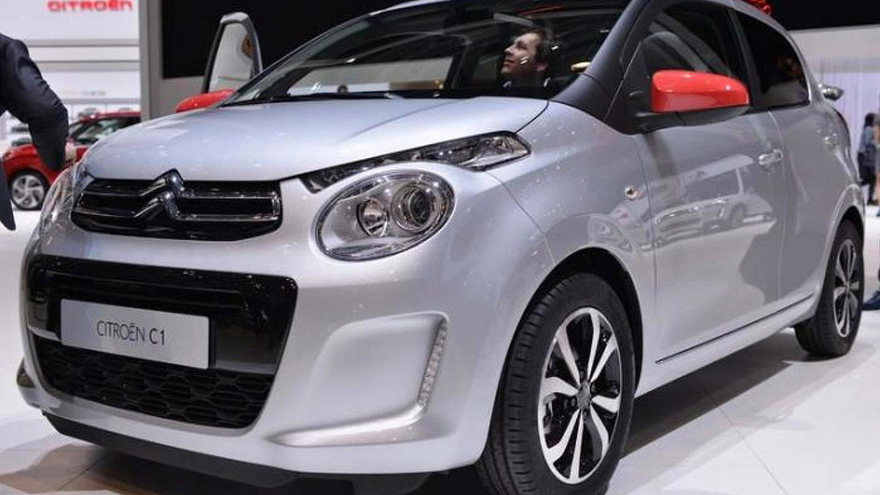 2014 Citroen C1 at 2014 Geneva Motor Show