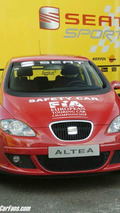 New SEAT Altea is official car at the ETCC