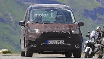 Ford Tourneo Courier spy photo