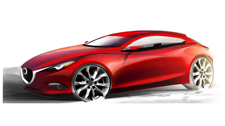 Yeni Mazda3 Frankfurt'a yeni motor teknolojisiyle gelecek