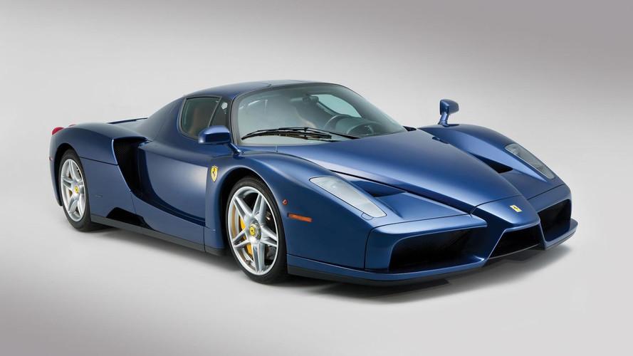 Une Ferrari Enzo particulière bientôt aux enchères