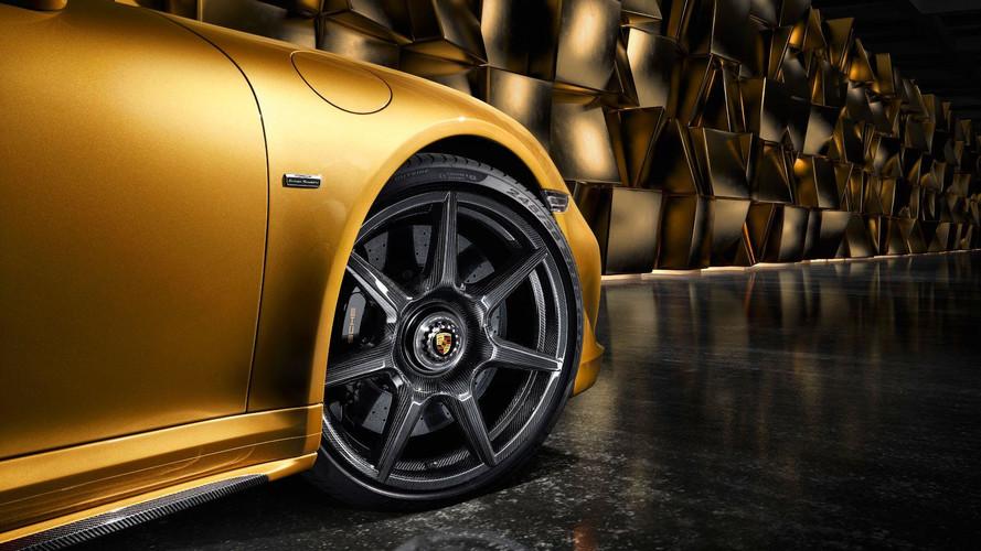 Porsche inova ao oferecer rodas de fibra trançada de carbono