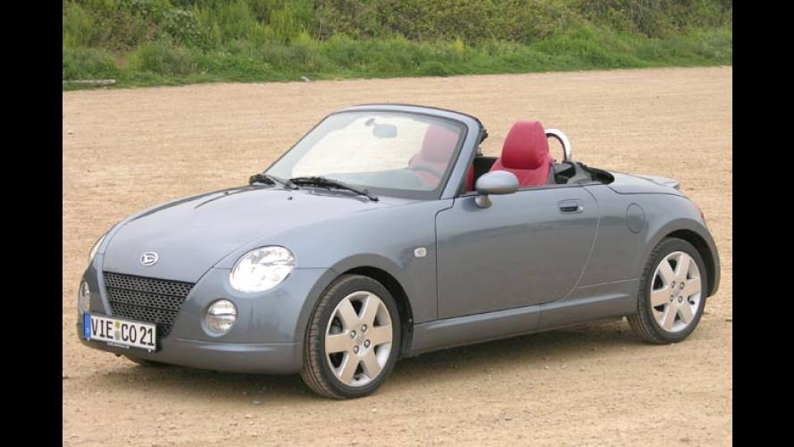 Copen Feeling: Jetzt im Daihatsu-Roadster zu erfahren