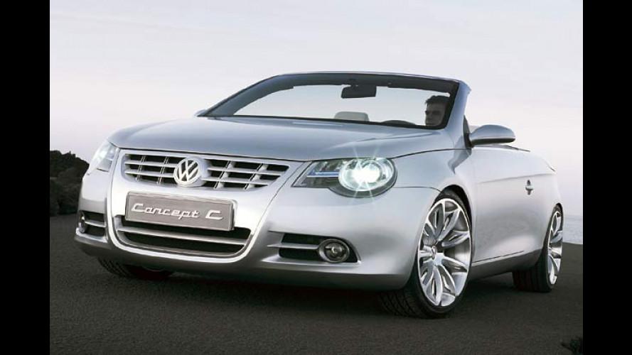 VW Cabrio-Coupe-Studie: So klappts bei Volkswagen