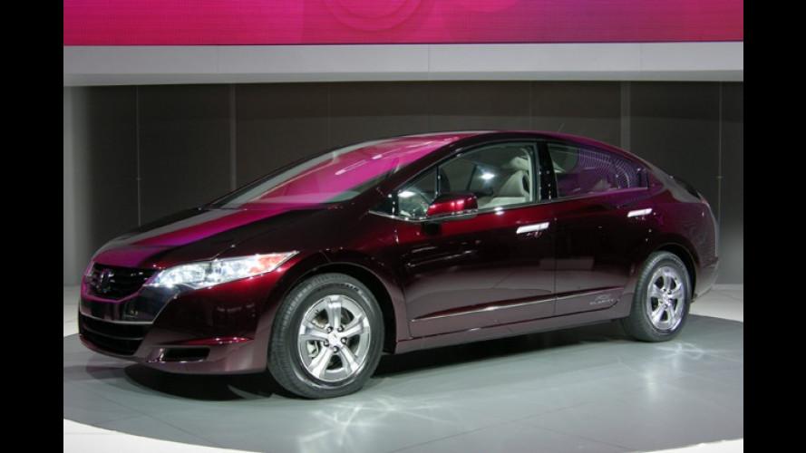 Honda zeigt auf der LA Auto Show den FCX Clarity