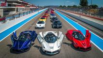 70 aniversario de Ferrari en Paul Ricard