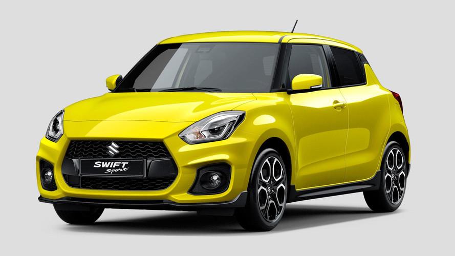 Suzuki Swift Sport Revealed Ahead Of Frankfurt Debut