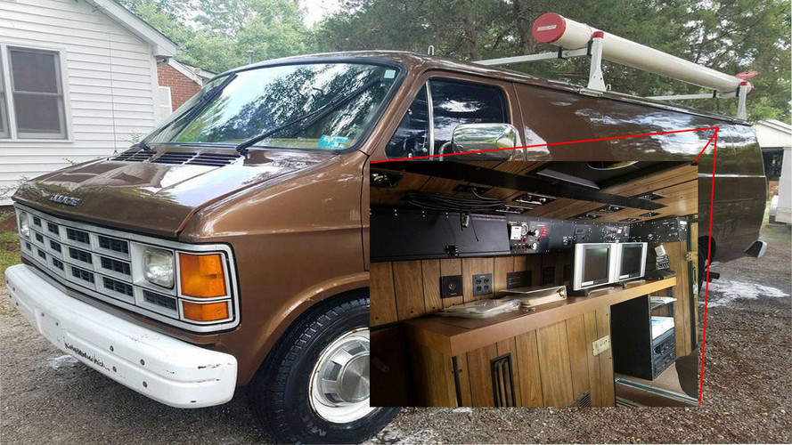 Buy This FBI Surveillance Van And Feel Like An Empowered G-Man