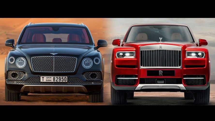 Comparatif - Rolls-Royce Cullinan vs Bentley Bentayga