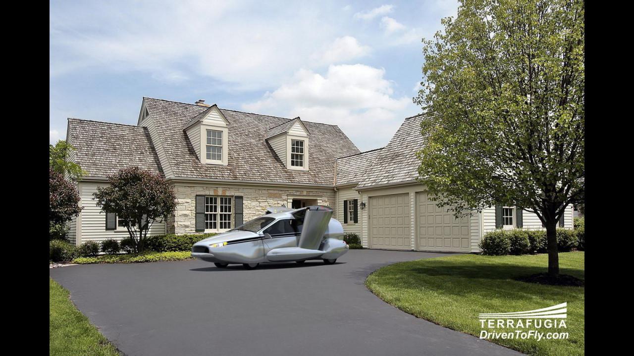 Terrafugia TF-X concept: un'auto volante e ibrida