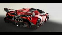 Lamborghini Veneno Roadster. Prime foto