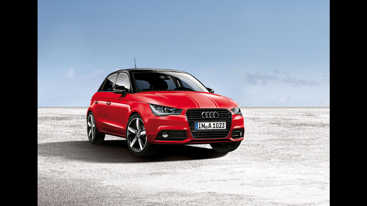 Audi A1 Sportback amplified red