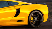Otadan motorlu Chevy Corvette C8 tasarım yorumu