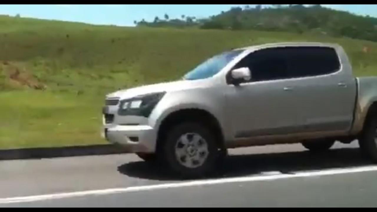 VÍDEO: Leitor flagra Nova S10 em São Paulo