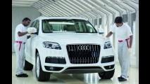 Audi inicia produção do SUV de luxo Q7 na Índia - Q3 será fabricado por lá em 2013
