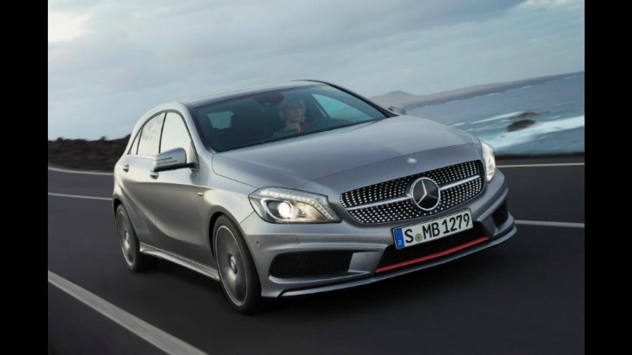 Novo Mercedes-Benz Classe A custará o equivalente a R$ 61.225 no Reino Unido