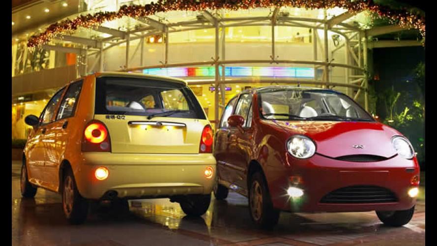 Chery QQ chega em setembro com motor Flex por R$ 19.900