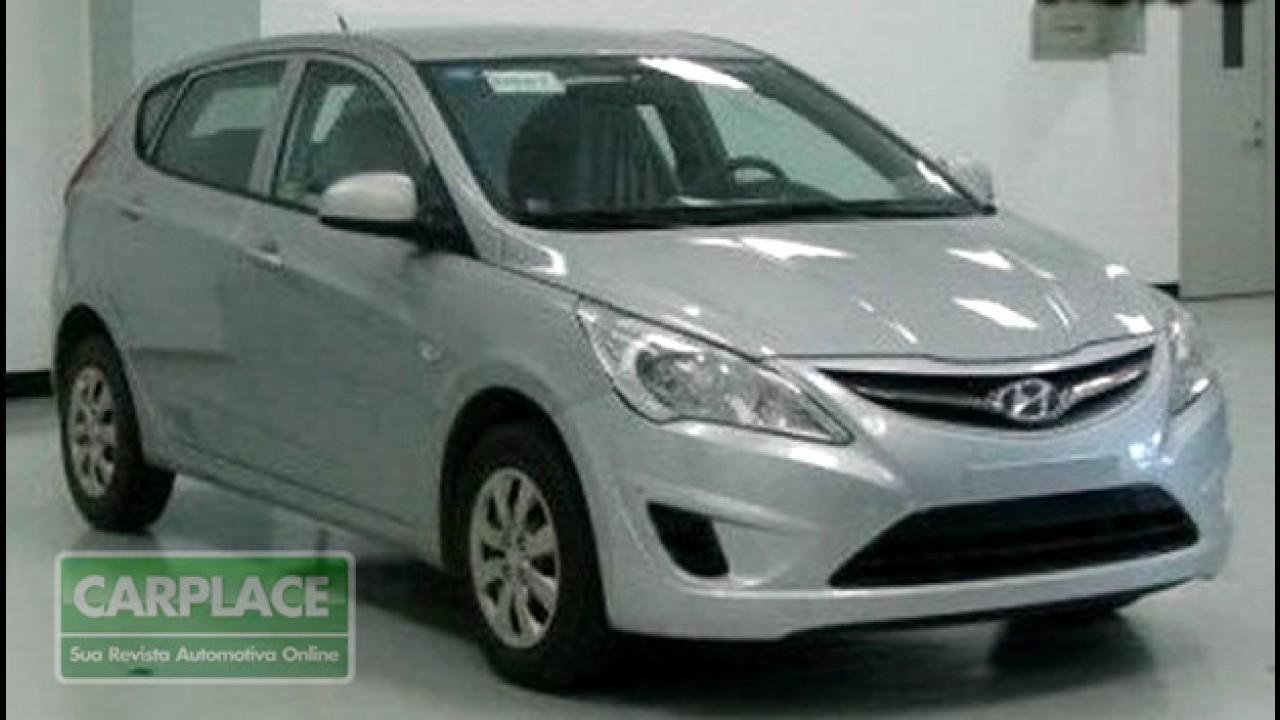Hyundai Accent (Verna) hatch aparece sem camuflagem