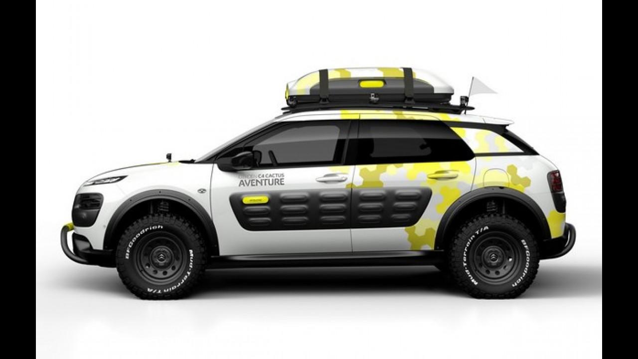 Citroën C4 Cactus Adventure é a futura opção off-road que estará em Genebra
